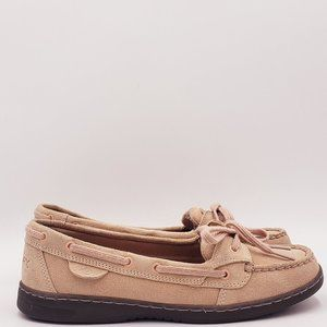 Sperry Angelfish Suede Rose Loafer B224